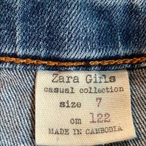 zara girls Bottoms - New Zara Girls Jean skirt